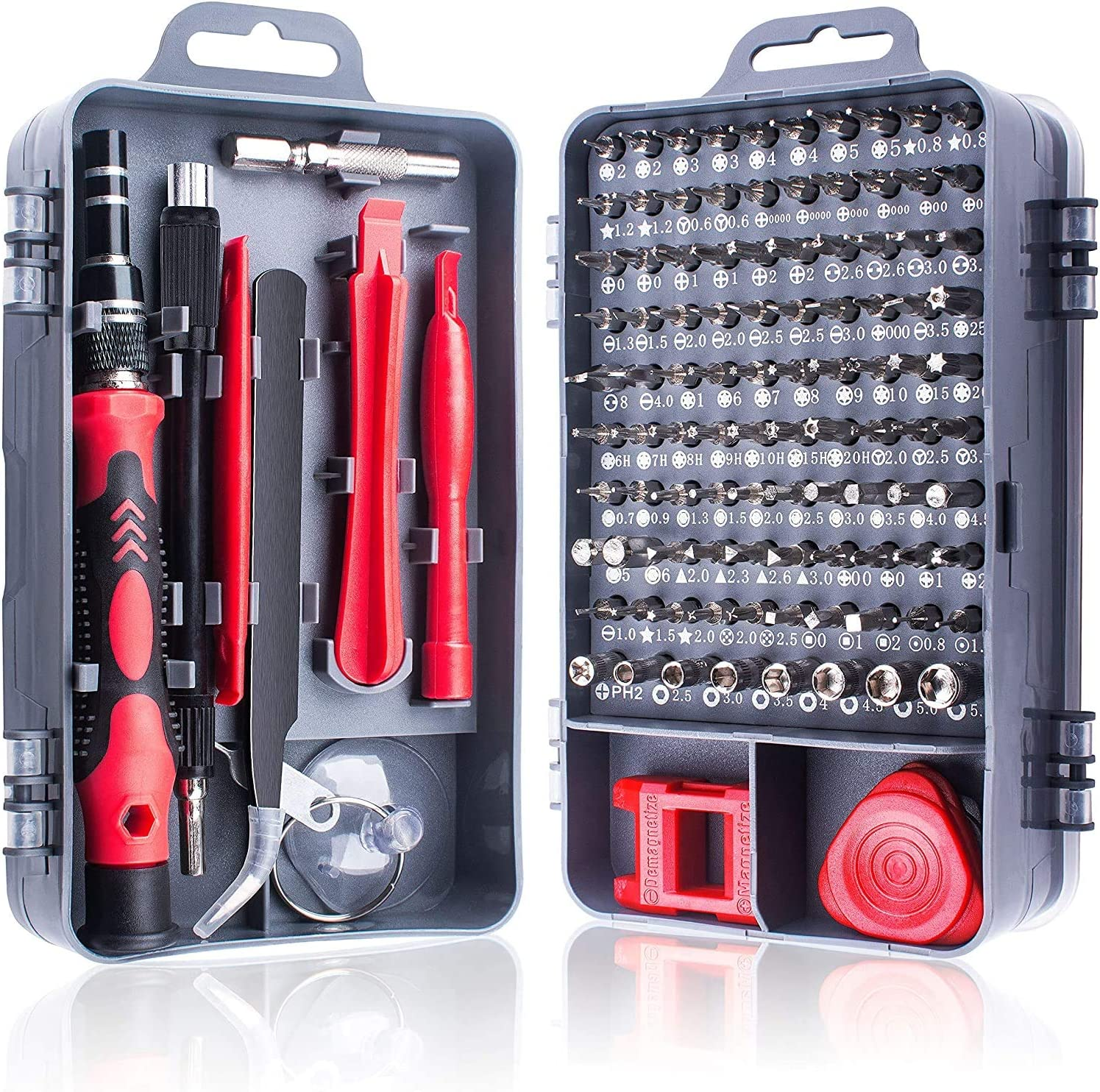 115 in 1 Magnetic Impact Driver Bits Kit