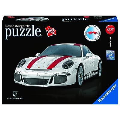 Ravensburger Porsche 911 R - 12528 - 108 Piece 3D Jigsaw Puzzle: Toys & Games