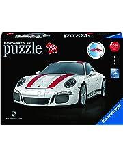 """Ravensburger Erwachsenenpuzzle 12528"""" Porsche 911 R 3D-Puzzle bunt"""
