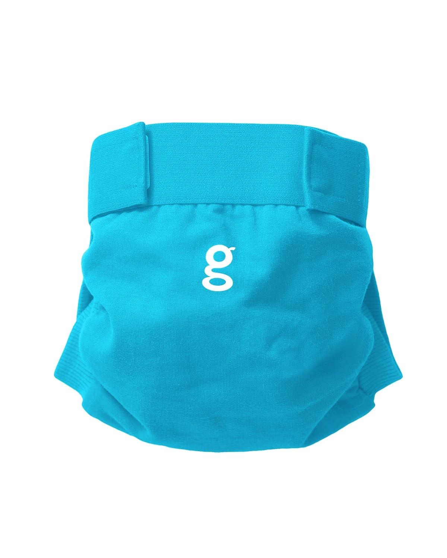 Small Blau gNappies Little gPants Windelhose Go Fish Blue