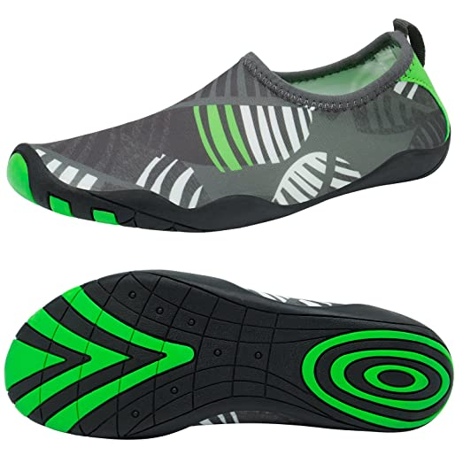 Barefoot Water Shoes Dynamic-Fit Instant-Dry W/Free Sackpack For Men Women and Kids Water Shoes