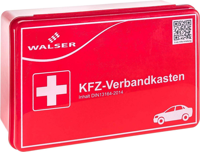 Walser 44263 Kfz Verbandskasten Rot Nach Din 13164 Auto