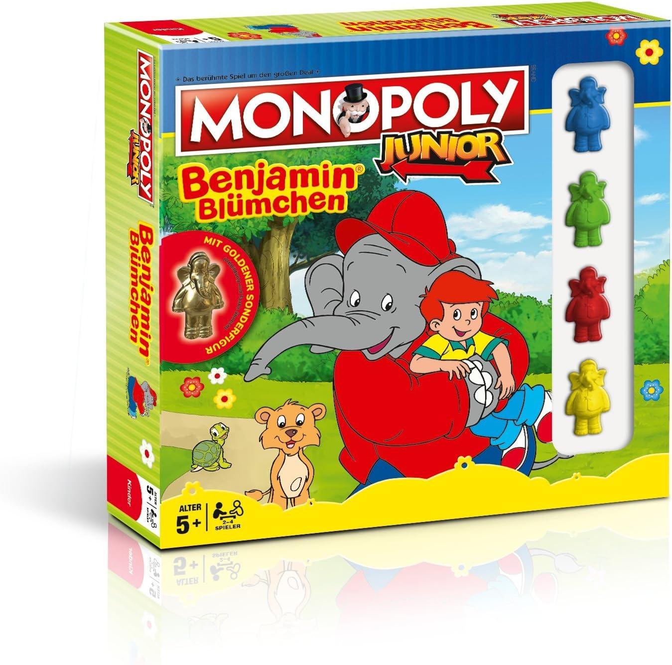 Monopoly Junior Benjamin Blümchen Collectors Edition: Amazon.es: Juguetes y juegos
