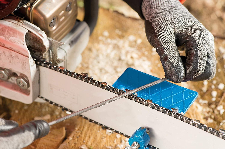 PFERD Kettens/ägefeilen rund Premium Line Spiralhieb 3 St/ück in Kunststofftasche f/ür das manuelle Sch/ärfen von S/ägeketten 200mm x 5,5mm 18600762