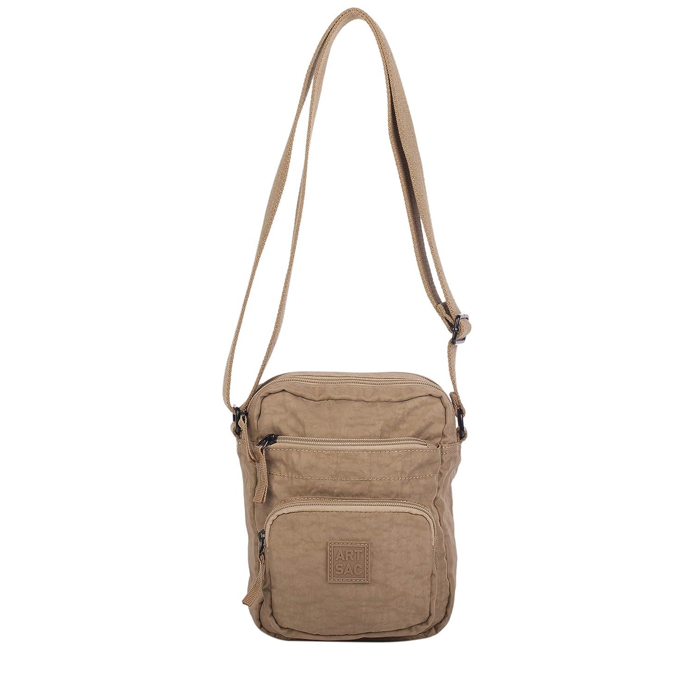 f45cae462 Artsac Womens 50021 Cross Body Pouch Bag Beige: Amazon.co.uk: Shoes & Bags