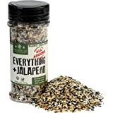 The Spice Lab Everything Bagel Seasoning Blend w/ Jalapeno 4.6 oz. Shaker Jar - Premium Gourmet PALEO and KETO Approved…