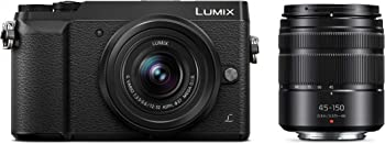 Panasonic DMC-GX85 Camera w/12-32 & 45-150 Lenses