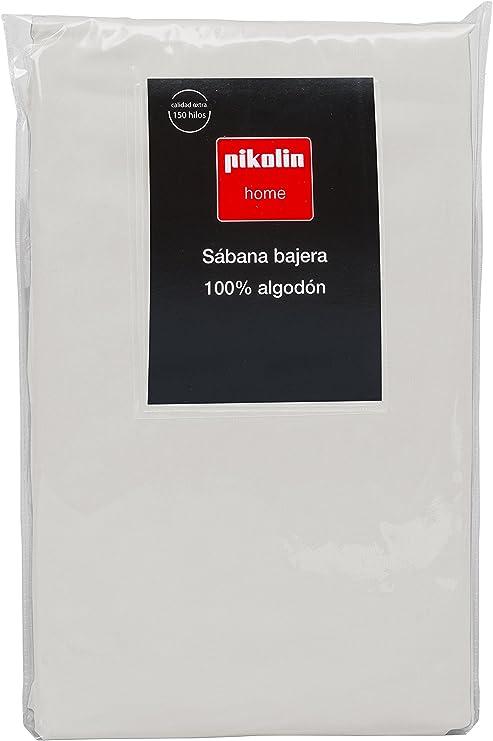 Pikolin Home - Sábana Bajera Ajustable, 100% Algodón, 135x200cm ...