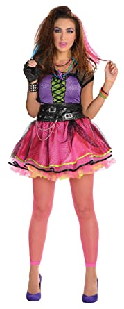 a9ef03cb23 Amazon.com  80s Pop Star Dress Adult Costume - Standard  Clothing