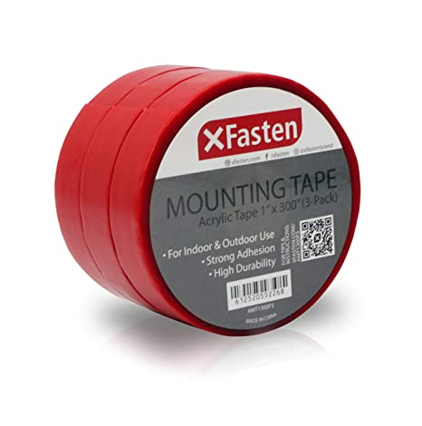 Xfasten Extreme Double Sided Acrylic Mounting Tape Removable 1 Inch X 300