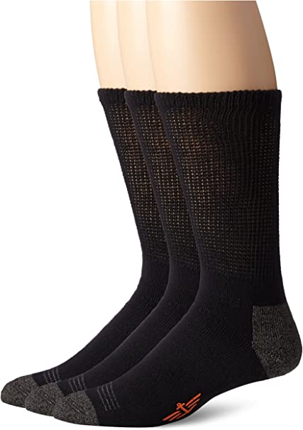 COTTON RICH SOCKS,SMART COMFORTABLE SIZES 6-9 /& 1 0-13 CUSHIONED SOLE.WORK