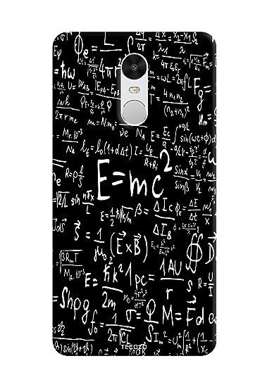 PICWIK Physics Equation E= mc2 Tecozo Designer Printed Hard Back Cover for Xiaomi Mi Redmi Note 4