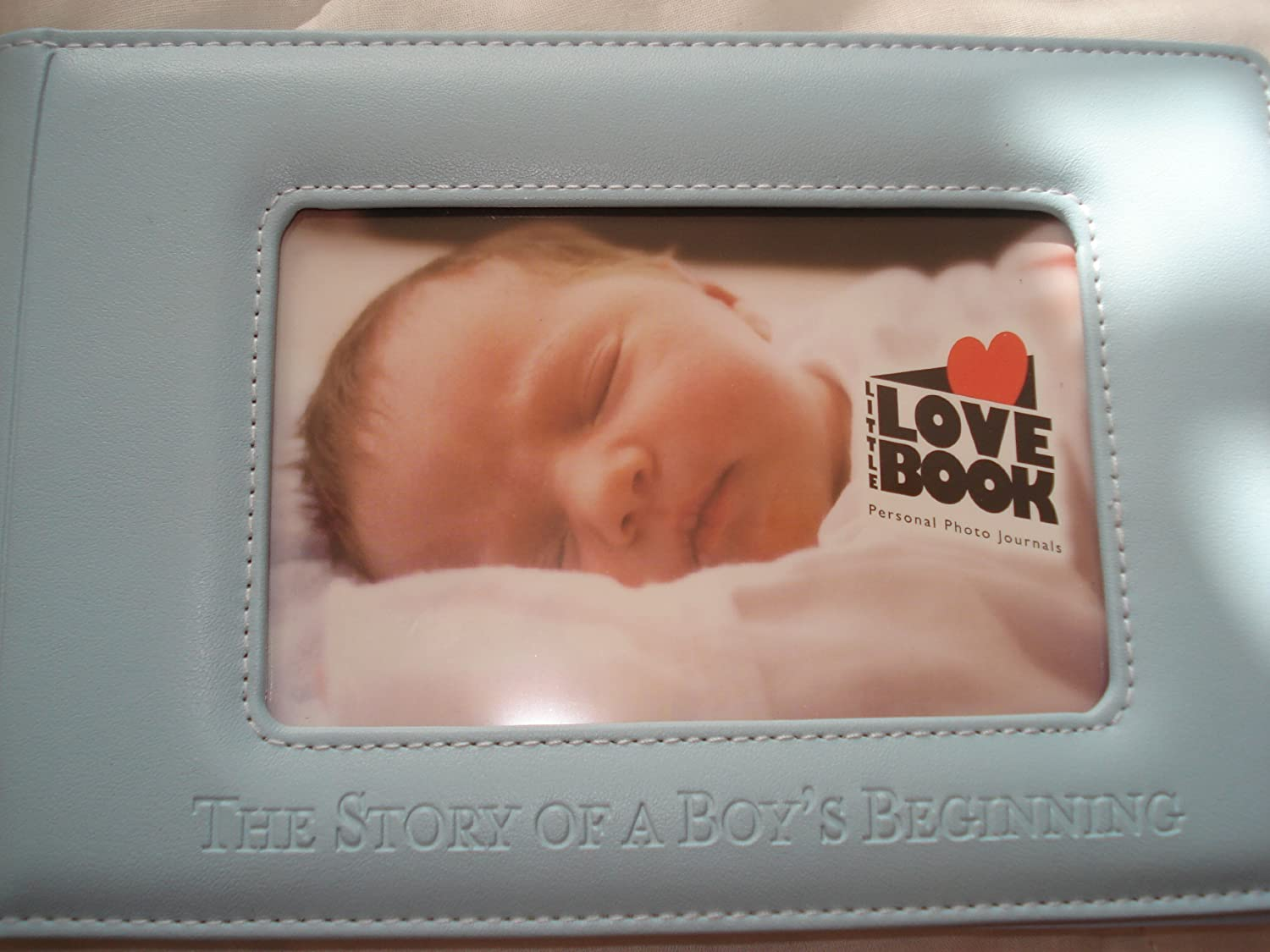Little Love Book (Blue) by THE STORY OF A BOY'S BEGINNING   B00FPWEHFM