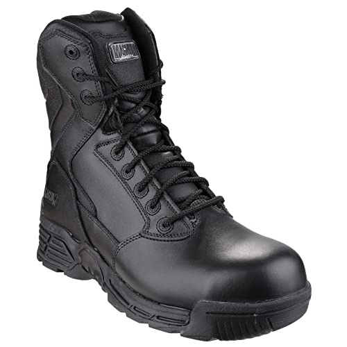 Magnum Stealth Force 8.0 Leather CT CP Sidezip WPi Walking Boots - AW17:  Amazon.co.uk: Shoes & Bags