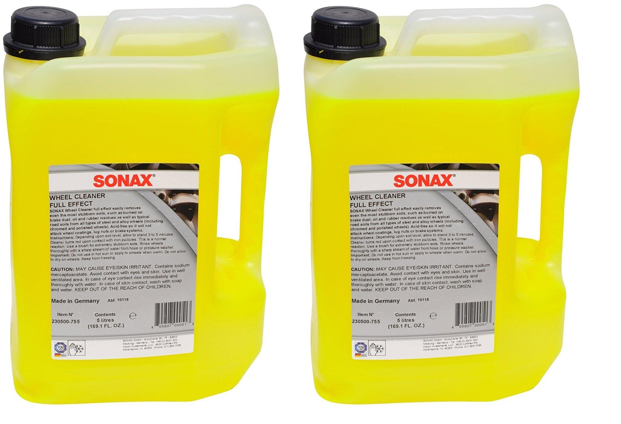 Sonax Wheel Cleaner FullEffect, DeYJIv 2 Pack (169.1 fl. oz.)