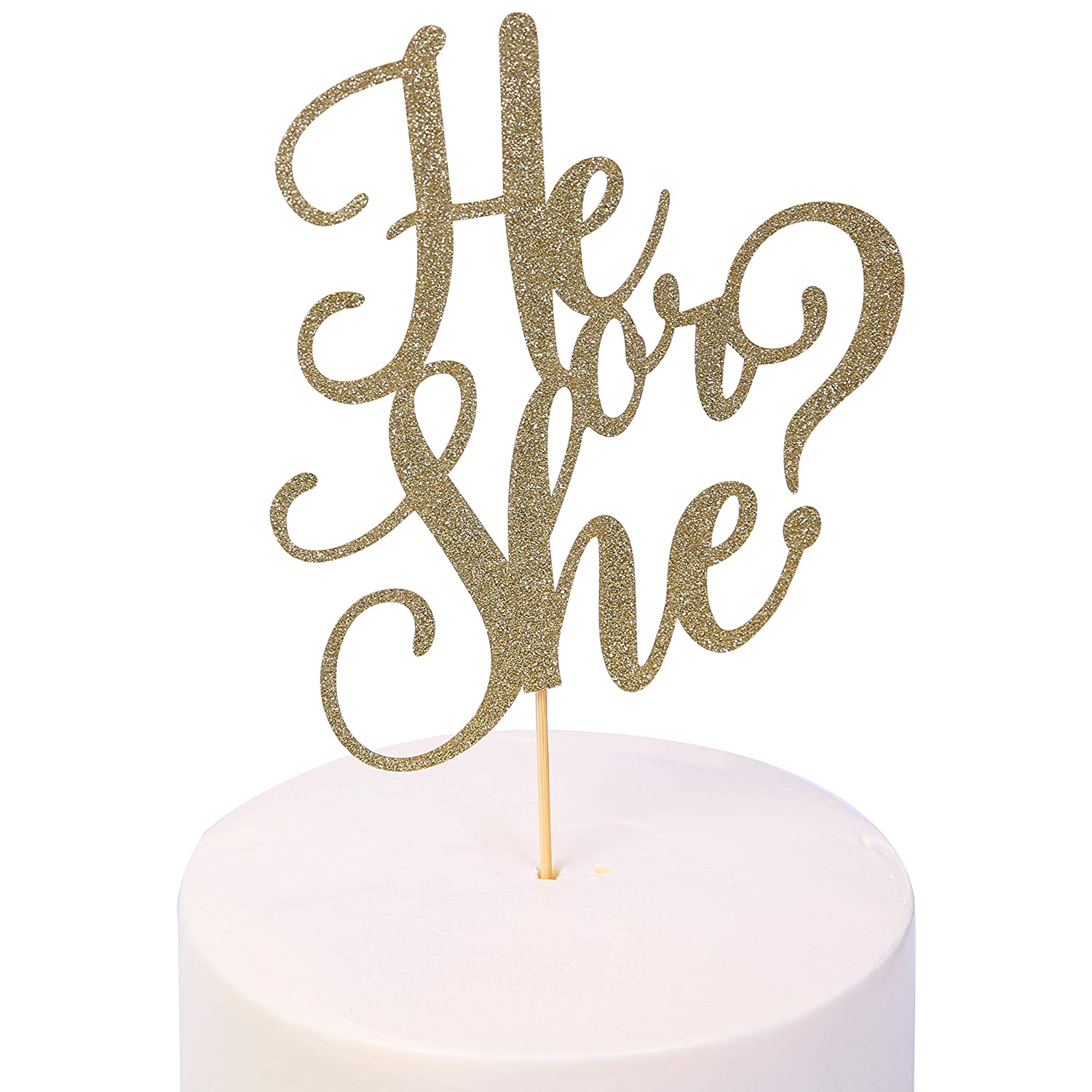Glitter Party Decorations Pick Me Luv Me Cake Topper Baby Shower Happy Birthday Bridal Shower Gender Neutral Reveal Party