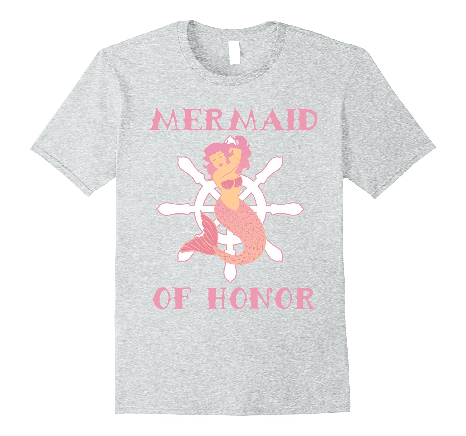1a6b1edd3 Mermaid Graphic Tee Women Bridal Party Maid of Honor Shirt-TJ ...