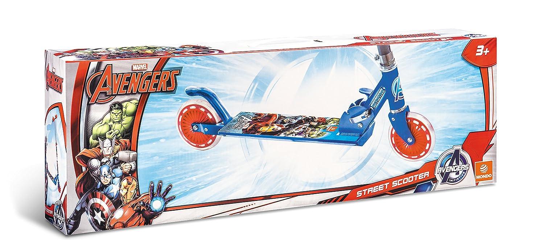 Avengers - Patinete de Aluminio con 2 Ruedas (Mondo Toys 18009)