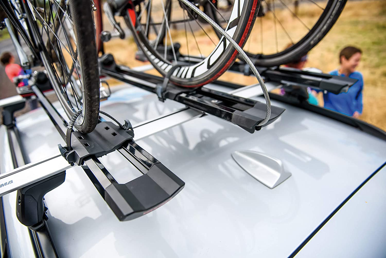 Yakima lampa y8002125 highspeed Porta Bicicletta da Tetto con Fissaggio Ruota Anteriore