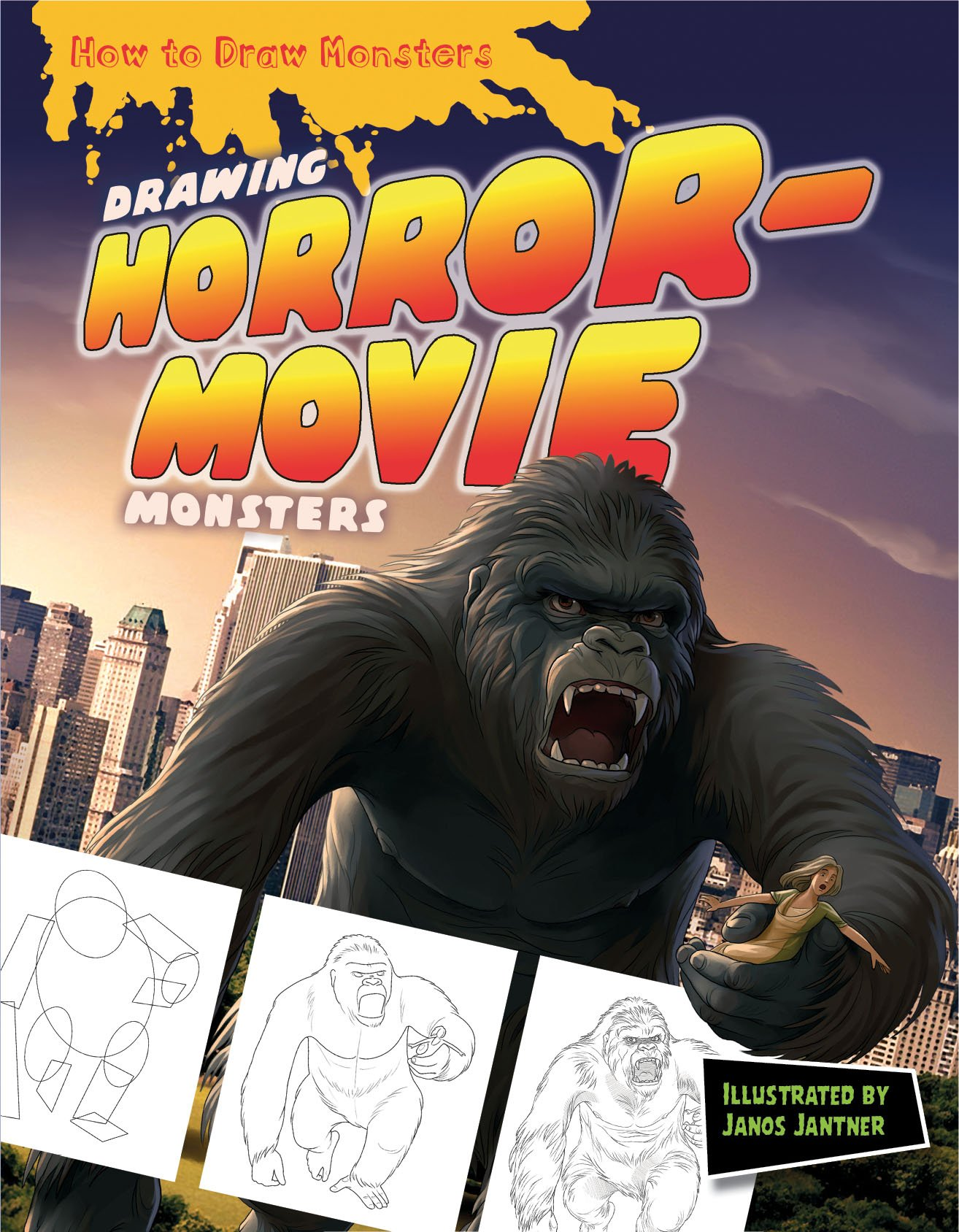 Drawing Horror Movie Monsters How To Draw Monsters Amazonde