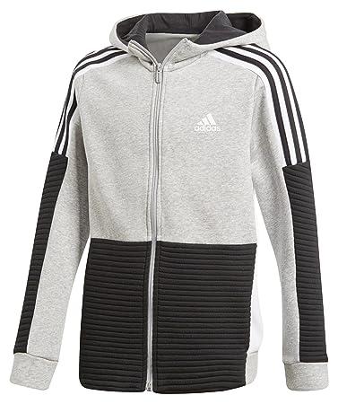adidas Performance Kinder Sweatjacke Fleece Full Zip Hoodie