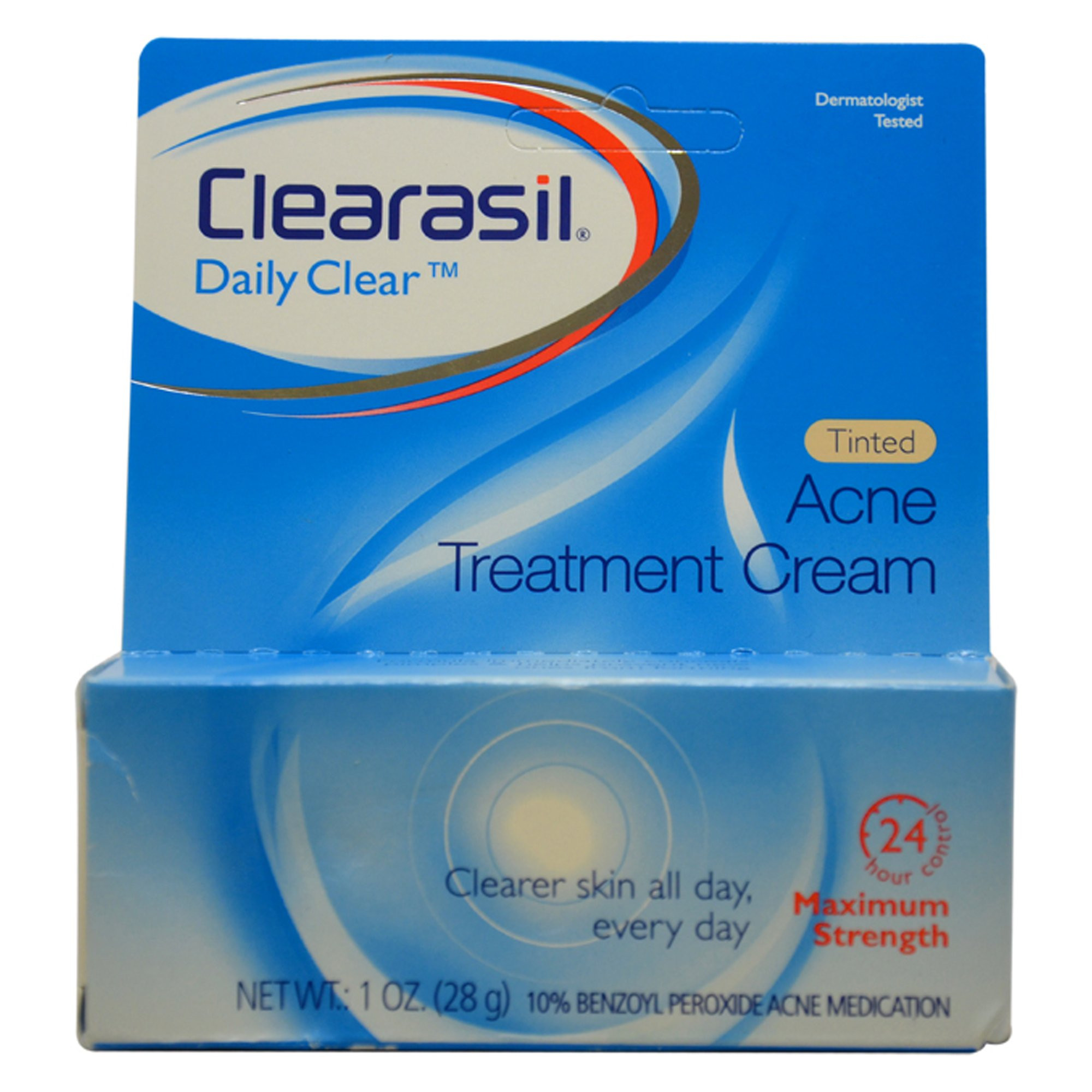amazon com clearasil daily clear vanishing cream 1 oz pack of 3