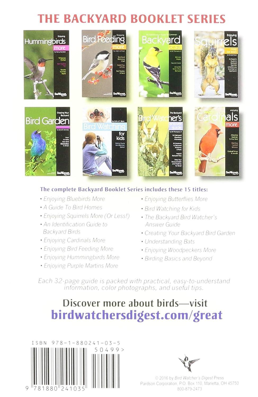 amazon com bird watchers digest 315 enjoying bluebirds more by