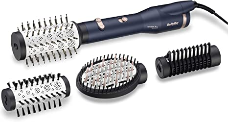 BaByliss AS500E – Cepillo de aire con sensor digital ajusta ...