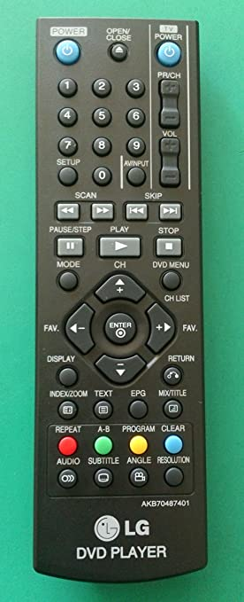 Mando original para LG AKB 70487401 AKB70487401: Amazon.es: Electrónica