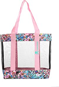Tokidoki Unisex-Adult Tokidoki Mesh Tote Bag - California Dreamin' 3130, Medium