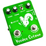 JOYO JF-12 Ultimate Fuzz and Voodoo Octave Guitar Effect Pedal