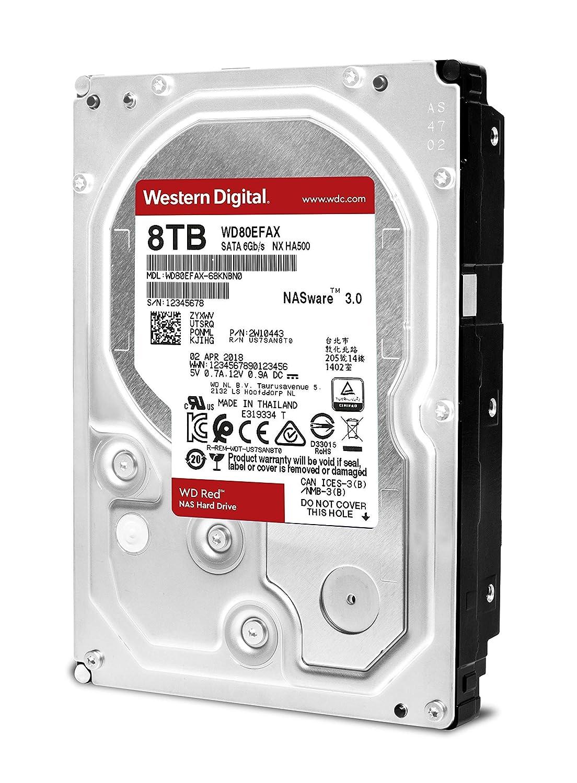 Amazon.com: WD Red 4TB NAS Hard Disk Drive - 5400 RPM Class SATA 6