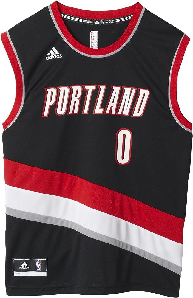 adidas INT Replica JRSY Camiseta de Baloncesto NBA Portland Trail ...