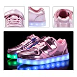 kealux Shiny Night USB Charging 7 Colors Lace Up