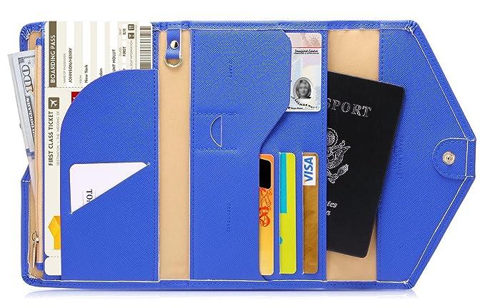 新版Zoppen三折多用途旅行护照钱包 $15.99