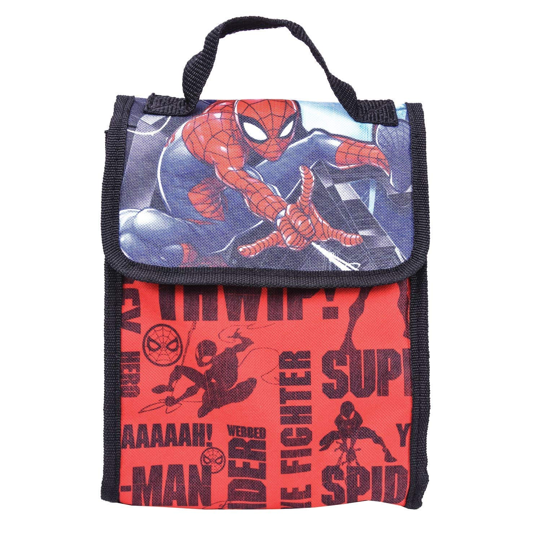 Red bluee) Marvel Spiderman Backpack Combo Set Marvels Marvels