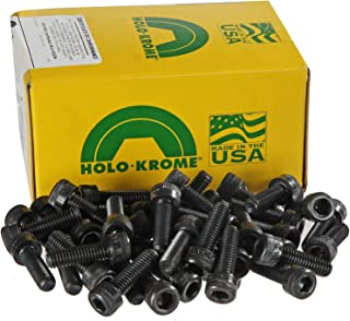 product image for Holo-Krome 72062, 8-32x7/8 Socket Cap Screw, Steel, Black Oxide, UNC, USA, 100/Pk