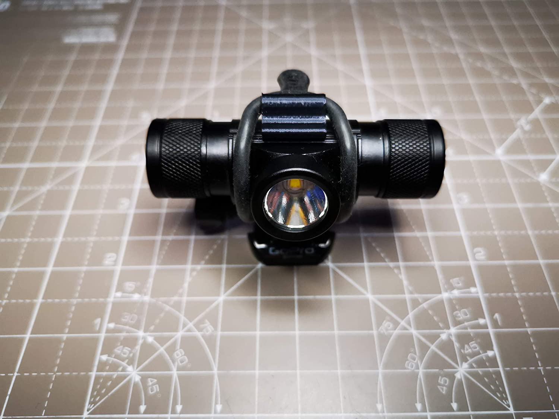 Cree V20 Light Mount for Chillitech Capsule