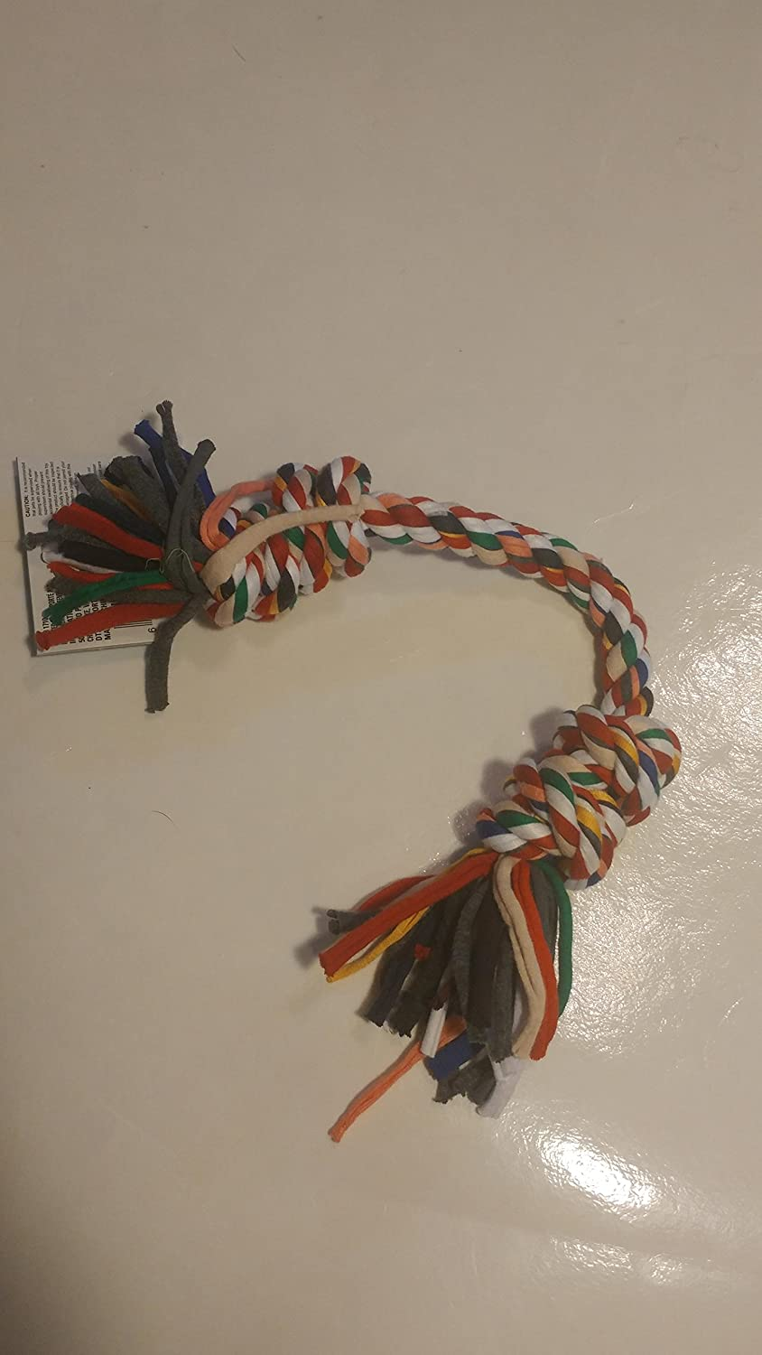 GKC Dog Rope Toy with Double Knots