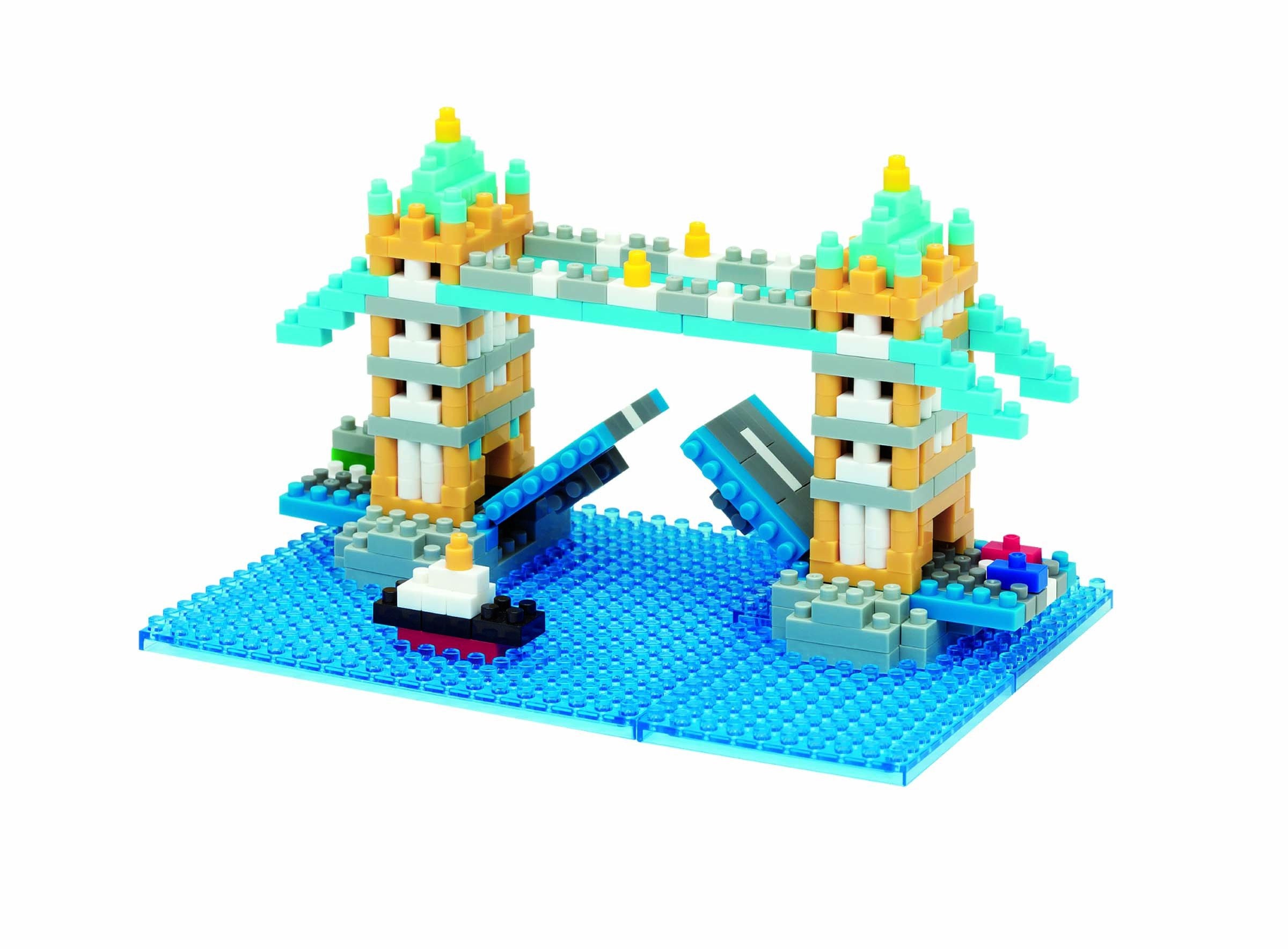 Nanoblock STS Plus Tower Bridge Kit