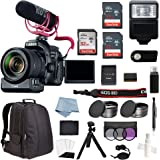 Canon EOS Rebel 80D Digital SLR Camera Video Creator Kit with EF-S 18-135mm USM Lens + Advanced Accessory Bundle - Including Everything You Need to Get Started