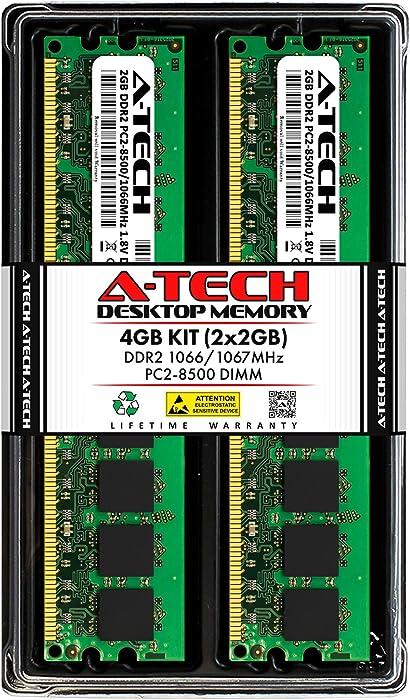 Top 10 2X1gb Ddr2 Pc2700 Desktop Ram