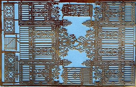Amazon Com Langley Models Ornate Cast Iron Gates For