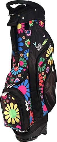 Birdie Babe Moondance Flowered Ladies Hybrid Golf Bag for Women