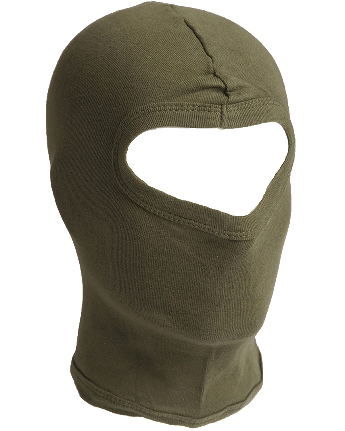 Deluxe 100% Cotton Short 1 Hole Open Face Under Helmet Balaclava Head Piece