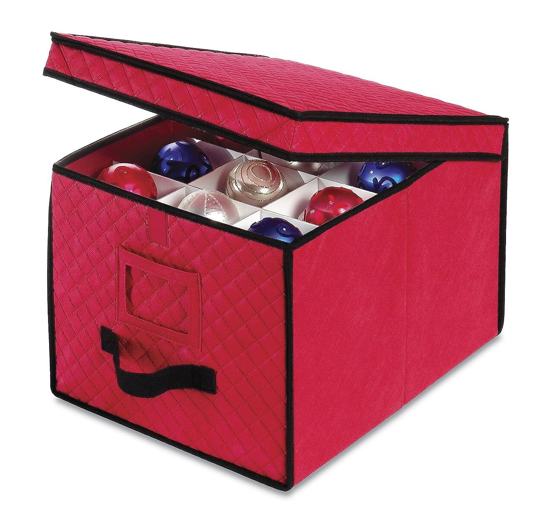 Amazoncom Whitmor Ornament Storage Box Home Kitchen