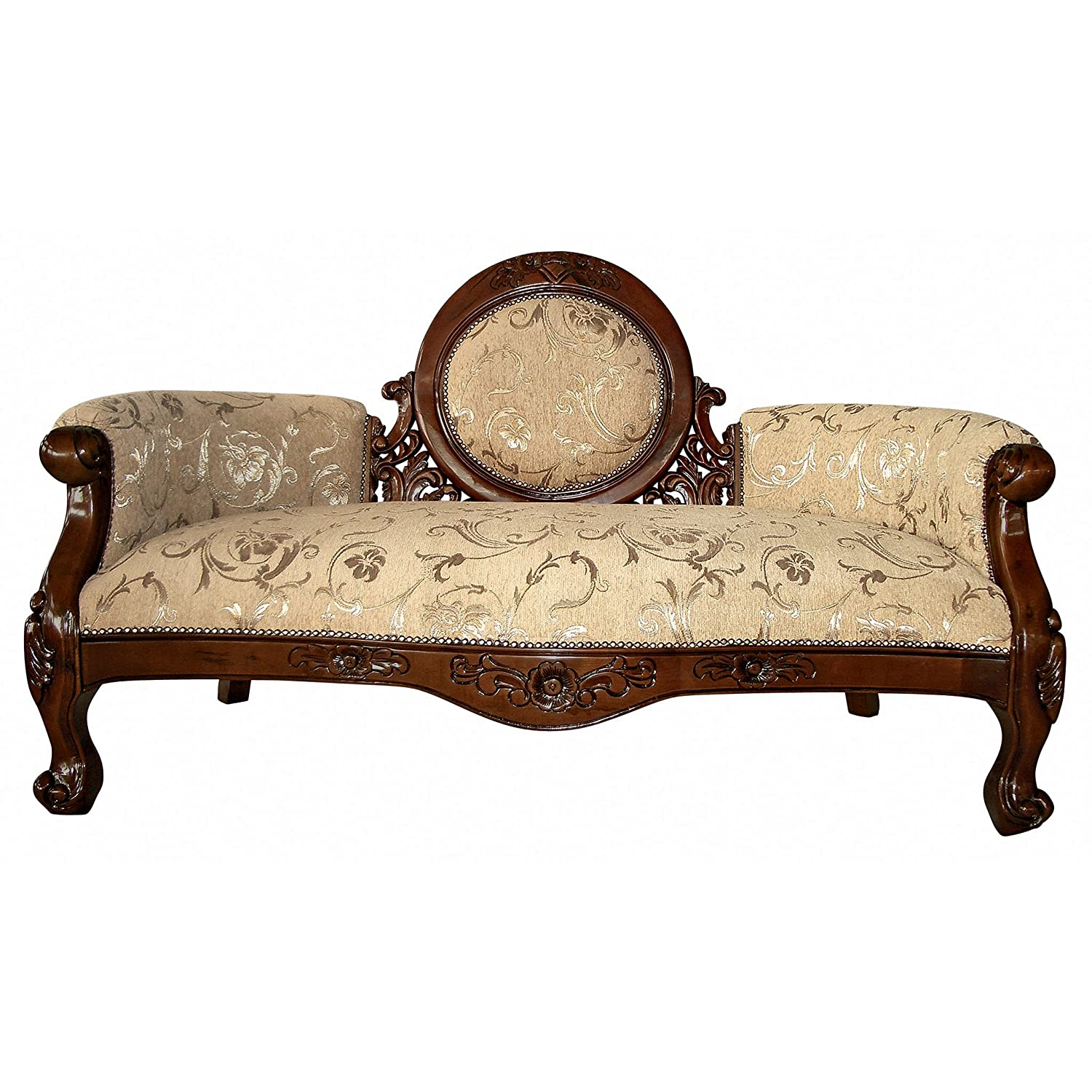 Amazon.com: Design Toscano Victorian Cameo Backed Settee: Kitchen U0026 Dining
