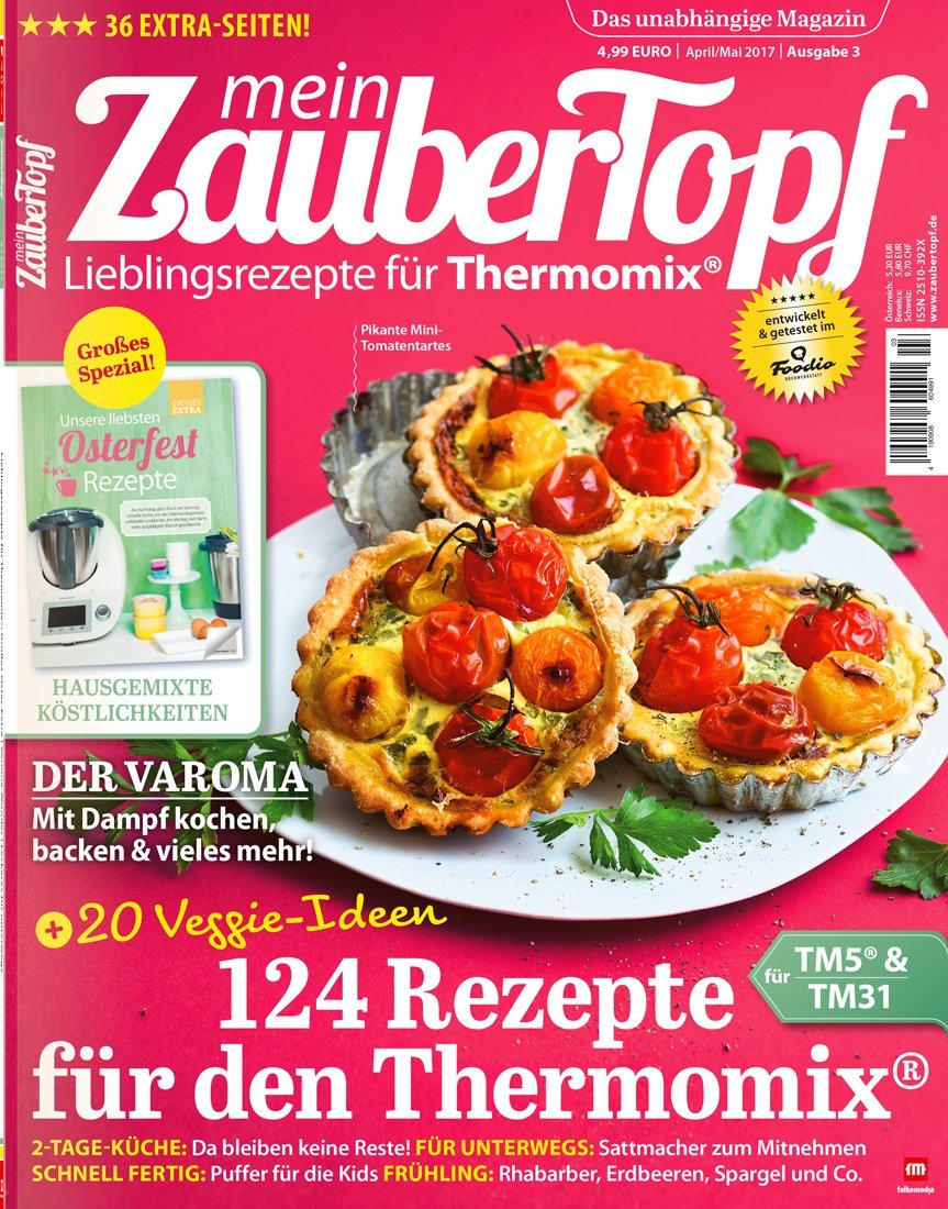 Die besten Thermomix® Rezepte: mein ZauberTopf 3 Hefte 1 Gratis ...
