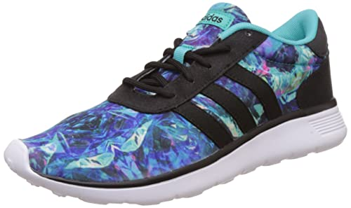 Adidas lite Racer W, Zapatillas de Deporte Exterior para Mujer, Azul (Menint/Negbas/Ftwbla), 41 1/3 EU