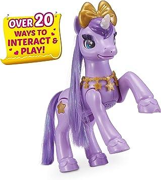 Pets Alive My Magical Unicorn Battery-Powered Interactive Robotic Toy (Purple Unicorn) by ZURU